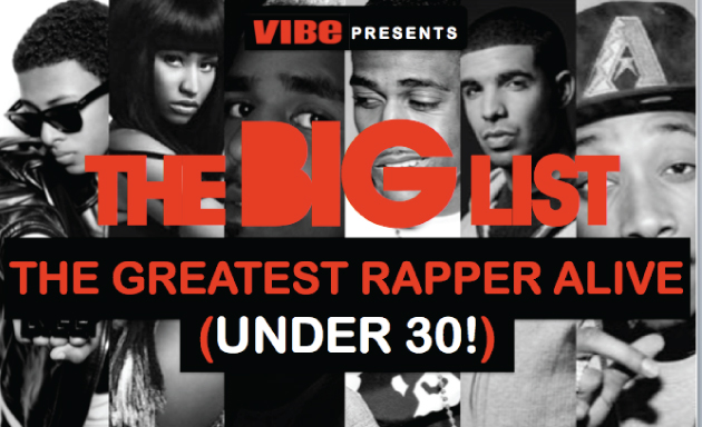 Vibe's Greatest Rapper Alive (30 Under 30)
