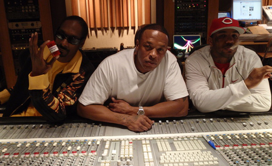 "Game feat. Dr. Dre & Snoop Dogg – ""Drug Test"""