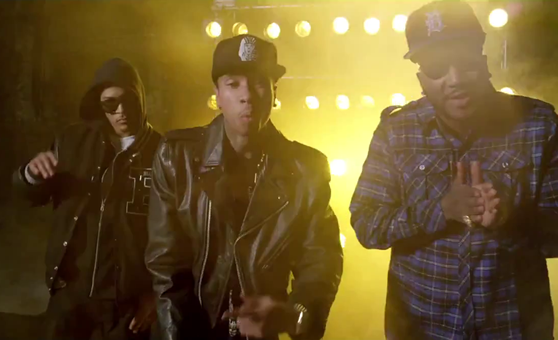 "Tyga feat. Wale, Fabolous, Young Jeezy, Meek Mill, & T.I. – ""Rack City (Remix)"""