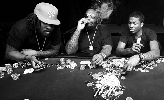 "Rick Ross, Wale, & Meek Mill feat. T-Pain – ""Bag Of Money"""