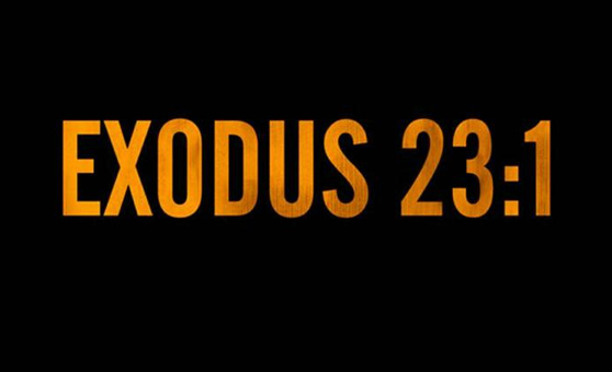 "Pusha T feat. The-Dream – ""Exodus 23:1″"
