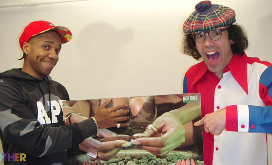 Nardwuar vs. Curren$y Part 3 [Video]