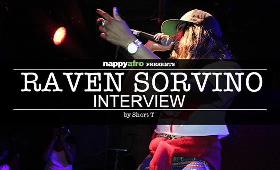 Raven Sorvino Interview (Front)