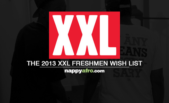 The 2013 XXL Freshmen Wish List (Front)