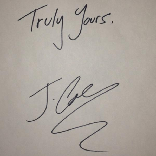 jcole-yours-truly-art