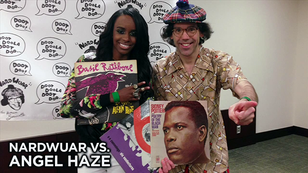 Nardwuar vs Angel Haze