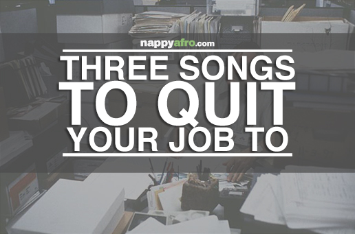 Three Songs To Quit Your Job To (Front)