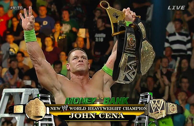WWE Money In The Bank 2014 Results Wwe John Cena World Heavyweight Champion 2014