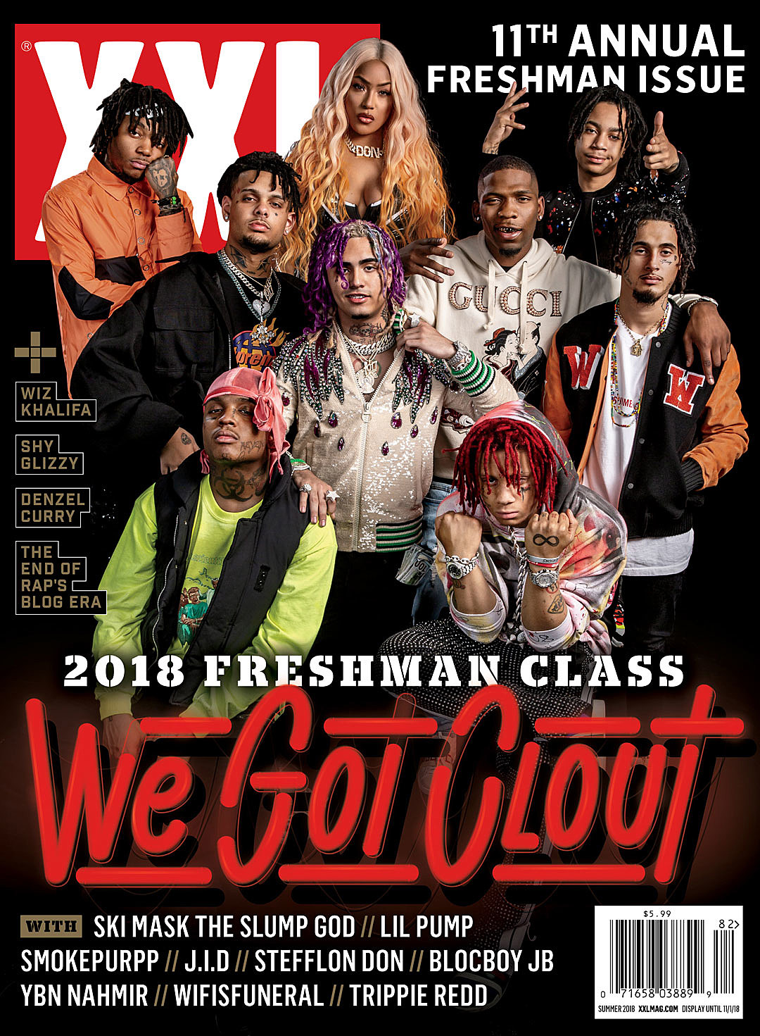 Xxl reveals 2018 freshman class after a few leaks xxl finally reveals their 2018 freshman class and yes this years annual list could be looked as having an abundance of face tats malvernweather Choice Image